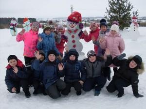 4а и наш снеговик