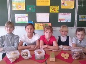 Хлебные изделия на нашем столе.