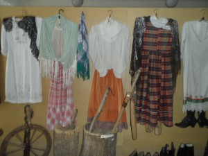 Одежда жителей села в начале 20 века
