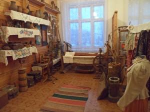 Экспозиция -Жизнь и быт жителей села в конце 19 начале 20 века