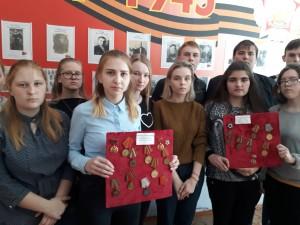 Ордена и медали времён Великой Отечественной войны.